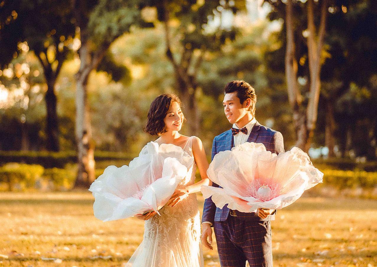 文心森林公園婚紗拍攝