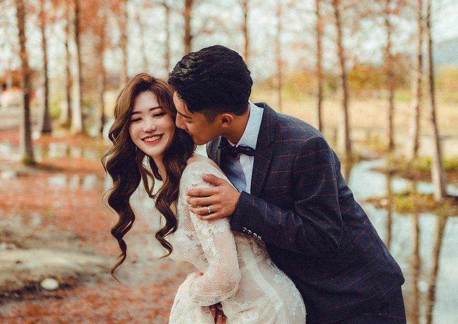 楓葉婚紗照