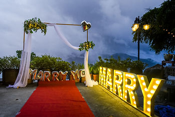 Marriage Proposal Decoration│Marriage Proposal Photography, Taiwan