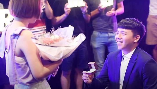 台中求婚錄影之電影院包場求婚