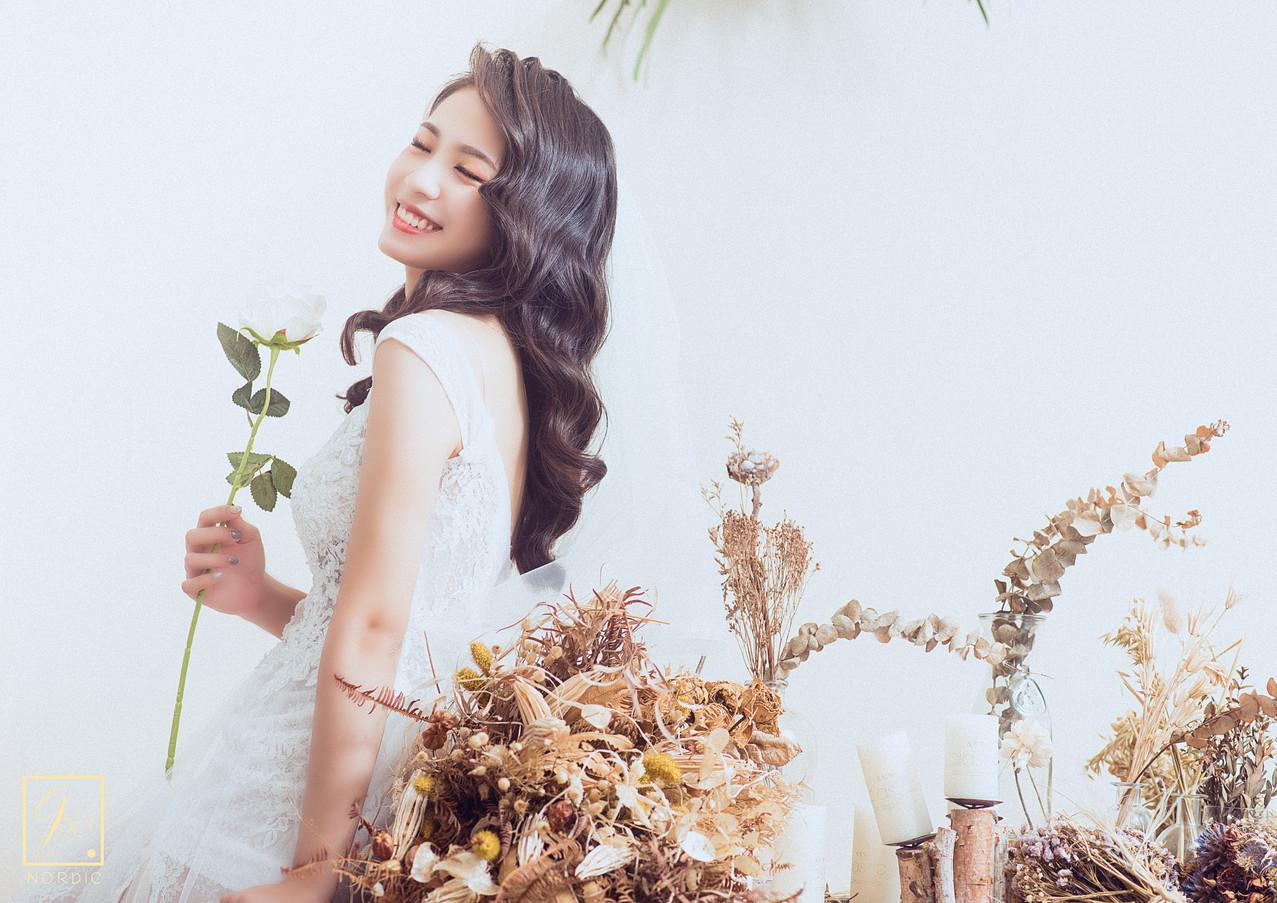 乾燥花婚紗攝影