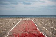 墾丁沙灘求婚