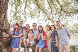 台中公園全家福 台中家族照 自然創意照片