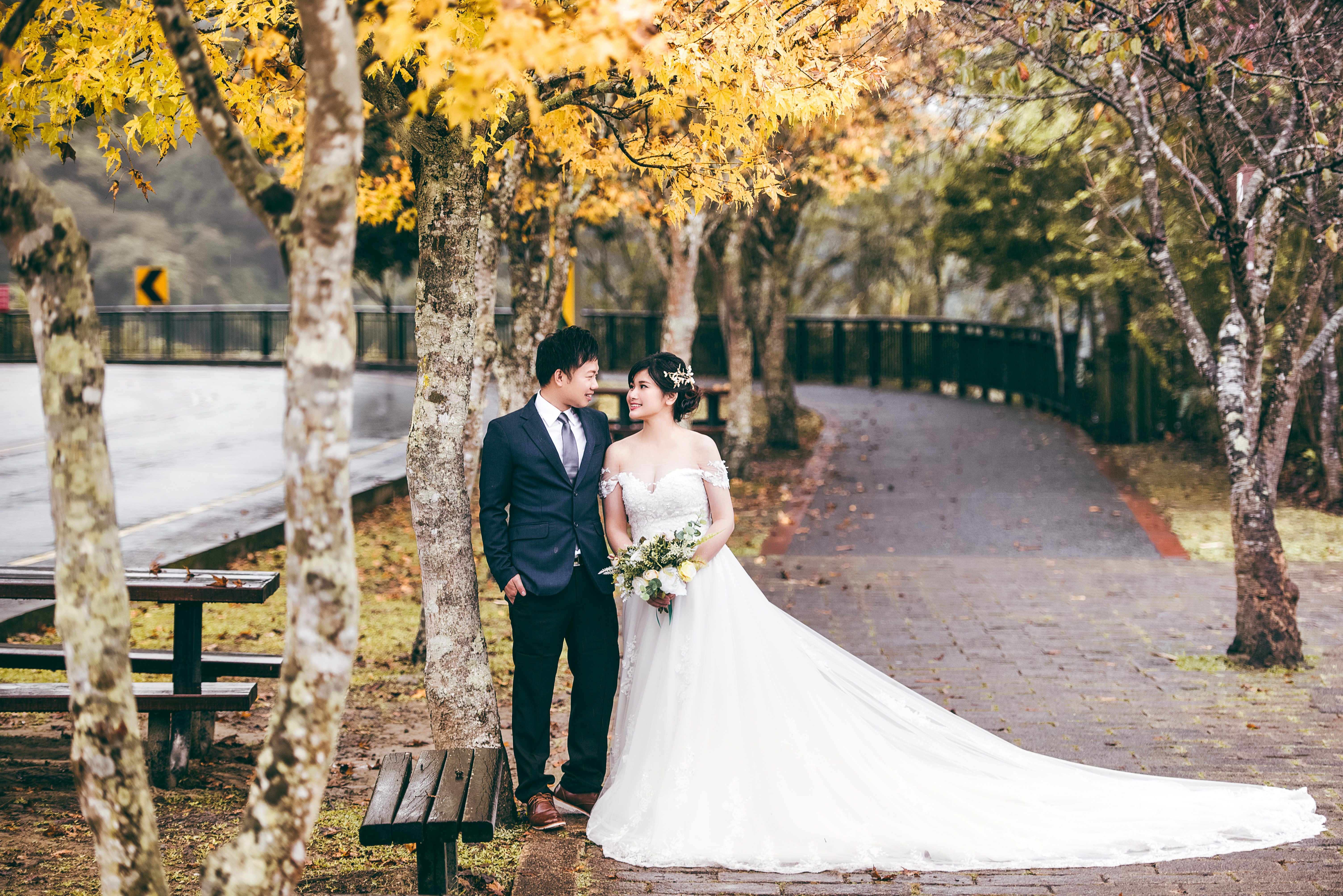 台中日月潭婚紗攝影,台中婚紗向山遊客,台中婚紗秘境