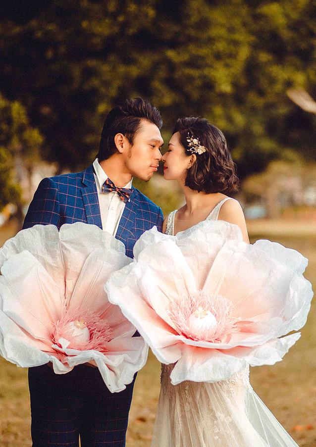 公園婚紗照