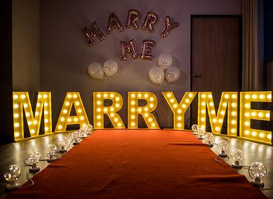 台中求婚道具出租-marryme大字燈