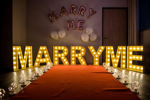 求婚企劃包套-龍珠燈串
