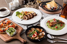ianco Taipei 義大利白色餐廳餐點