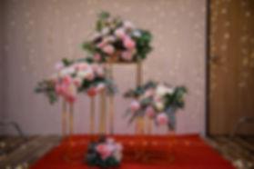 求婚道具出租-立體花柱