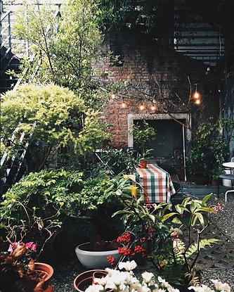 台中isabella's café戶外求婚地點