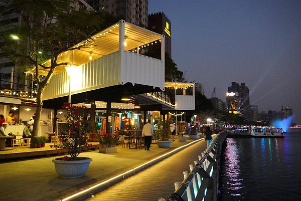 Restaurant by Love River│ Taiwan Marriage Proposal,  Kaohsiung