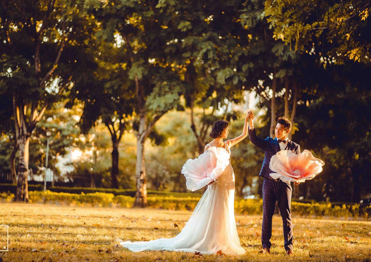 文心公園婚紗拍攝