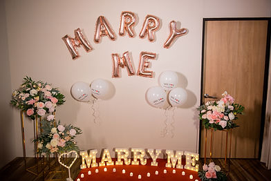 台中求婚道具租借-唯美花柱求婚套餐