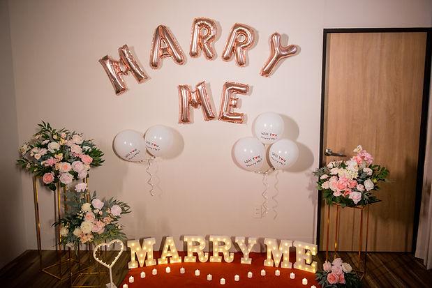 台中求婚道具出租-字型氣球,新竹求婚企劃推薦、新竹求婚企劃公司