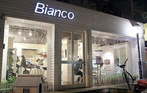 ianco Taipei 義大利白色餐廳外觀