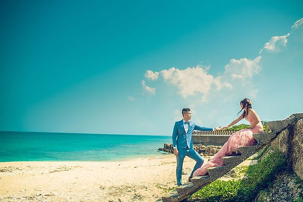 墾丁沙灘婚紗攝影