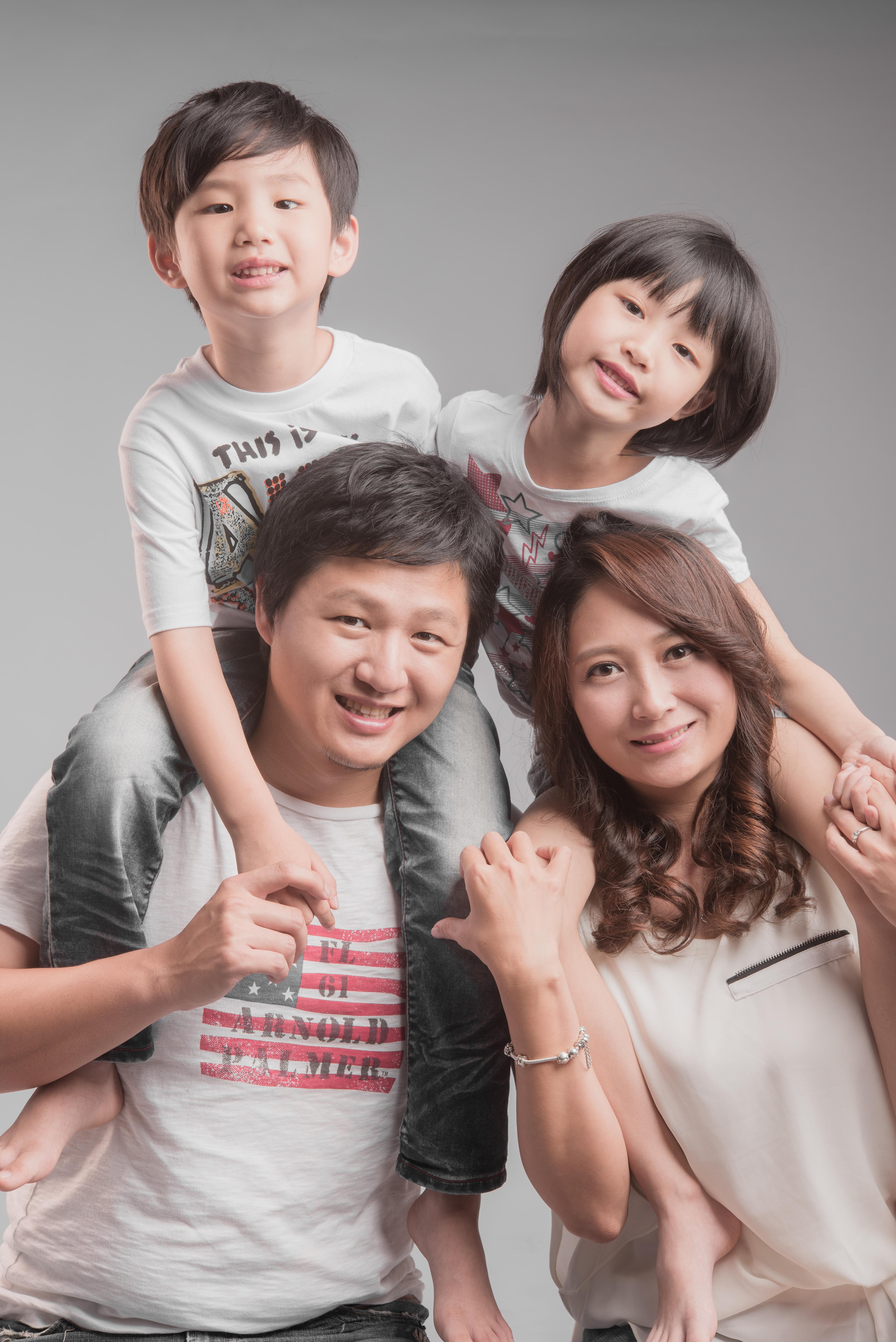 台中全家福拍攝 家庭照攝影 親子照拍照