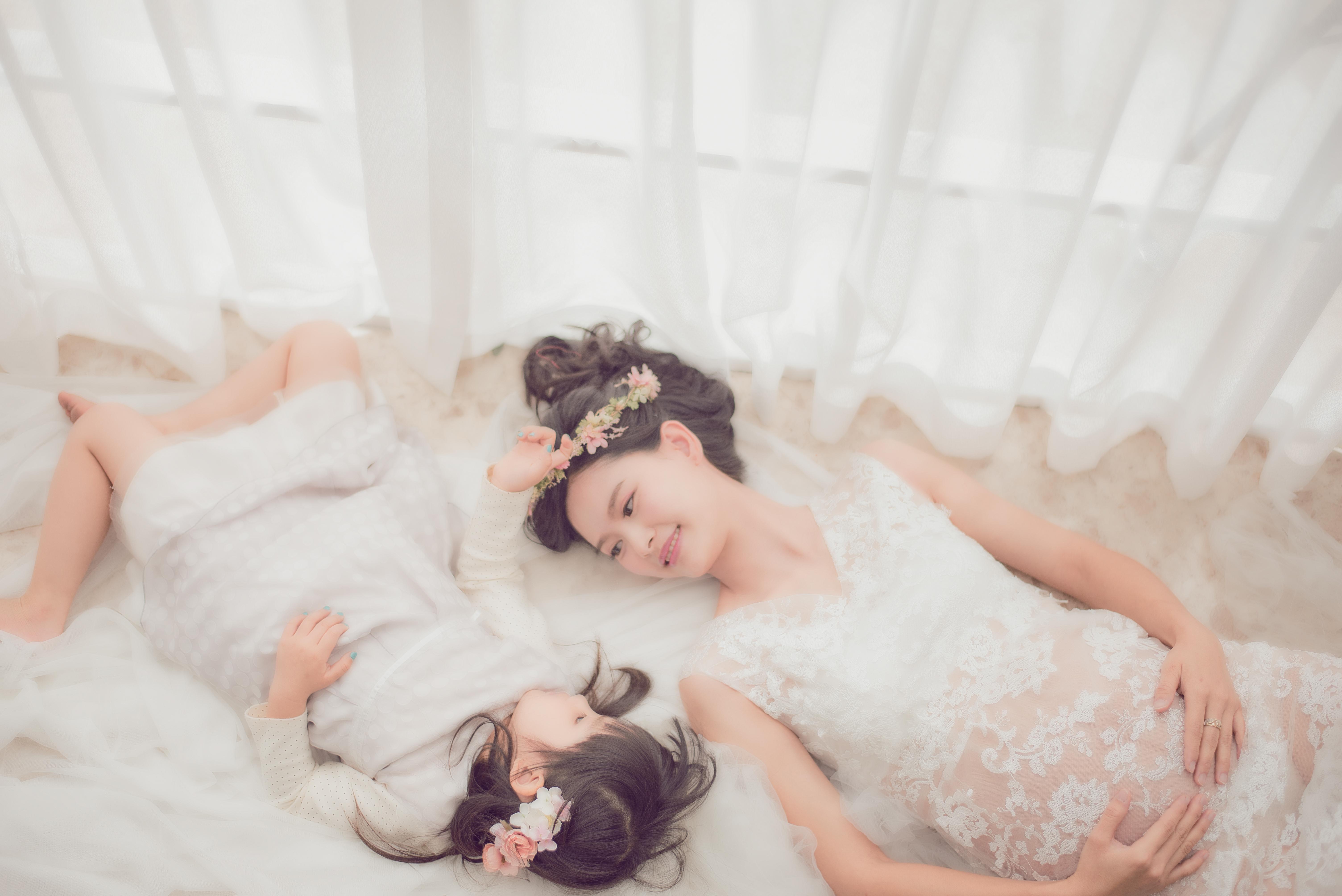 台中乾燥花孕婦寫真, 台中孕婦花叢超美, 台中孕婦乾燥花唯美