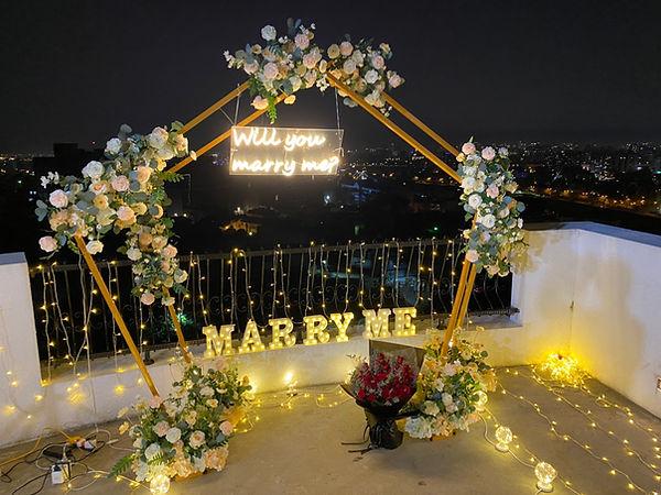 求婚道具租借-marry me字板燈 │ 台中求婚道具出租、台中求婚布置推薦、艾杜創意