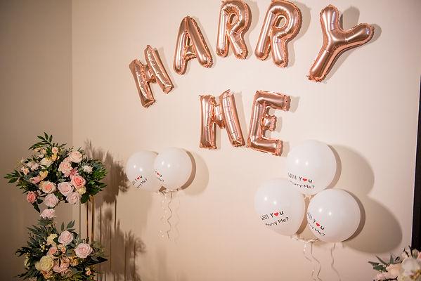 台北求婚佈置-乳膠氣球