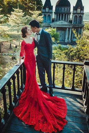 刺繡透膚拖尾禮服 │ 台中婚紗禮服,台中宴客禮服推薦,台中婚紗攝影推薦,那一刻北歐婚紗