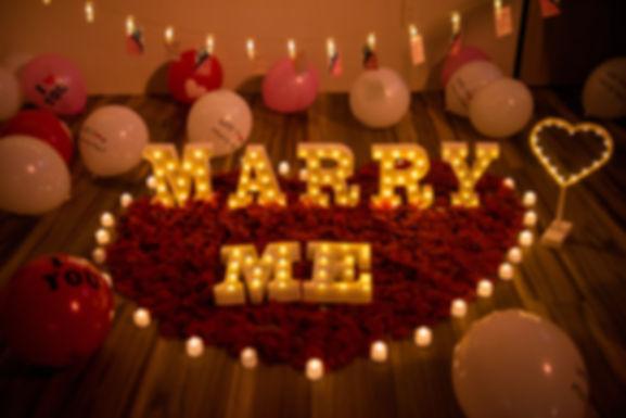 求婚佈置-浪漫玫瑰套餐
