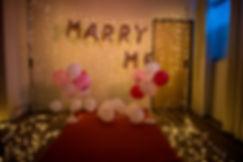 台中求婚道具出租-氣球柱