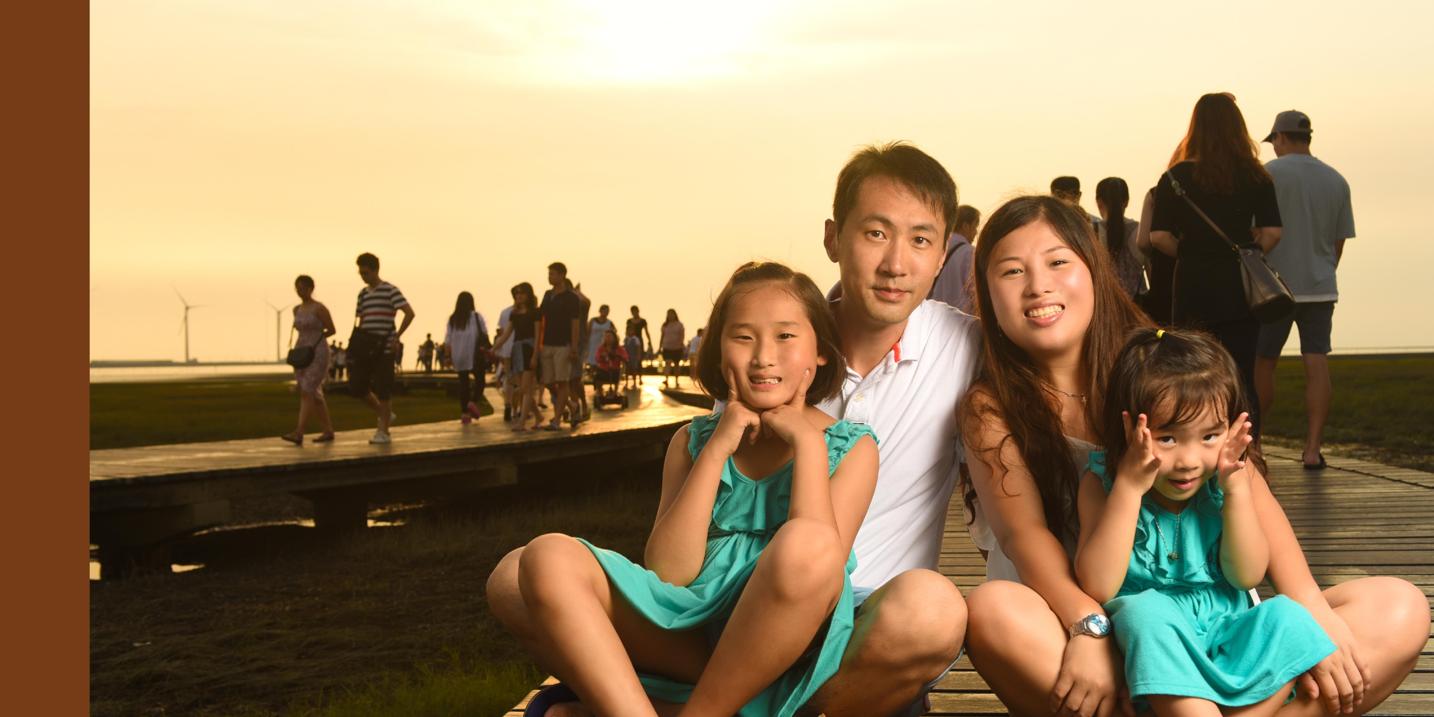 台灣旅遊拍攝全家福,香港到台灣拍全家福,台灣台中拍攝全家福,台灣台中攝影