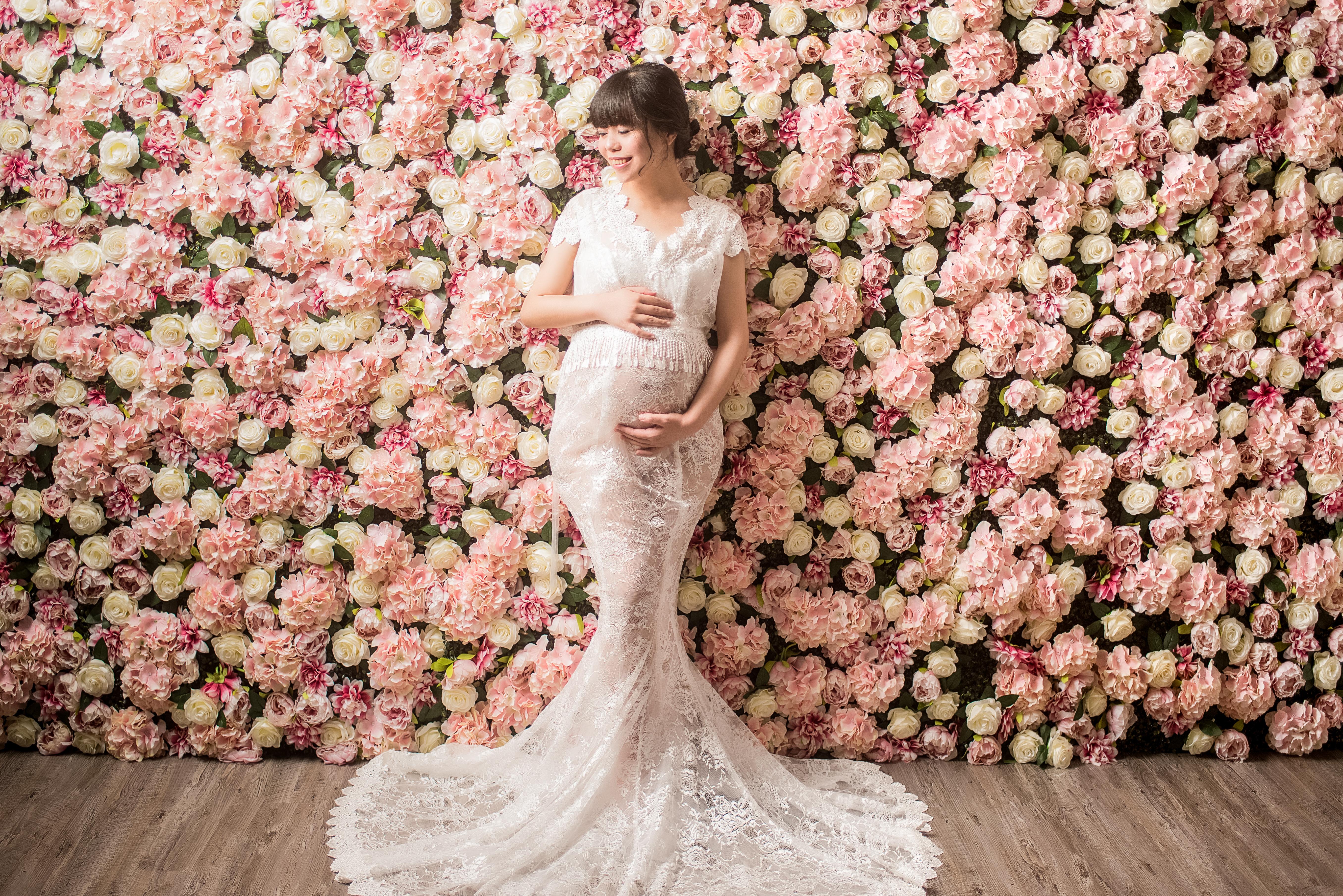 台中孕婦寫真, 台中孕婦寫真花牆, 台中孕婦攝影, 台中孕婦拍照
