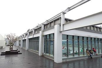 台北松山機場眺望台