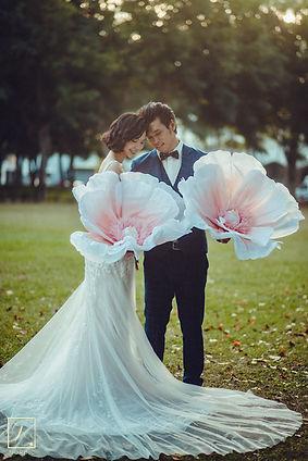 薄紗蕾絲包臀A字裙 │台中手工婚紗,台中精品婚紗,台中婚紗禮服