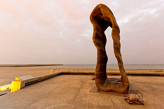 Installation art on Sunset Platform │ Marriage Proposal in Taiwan