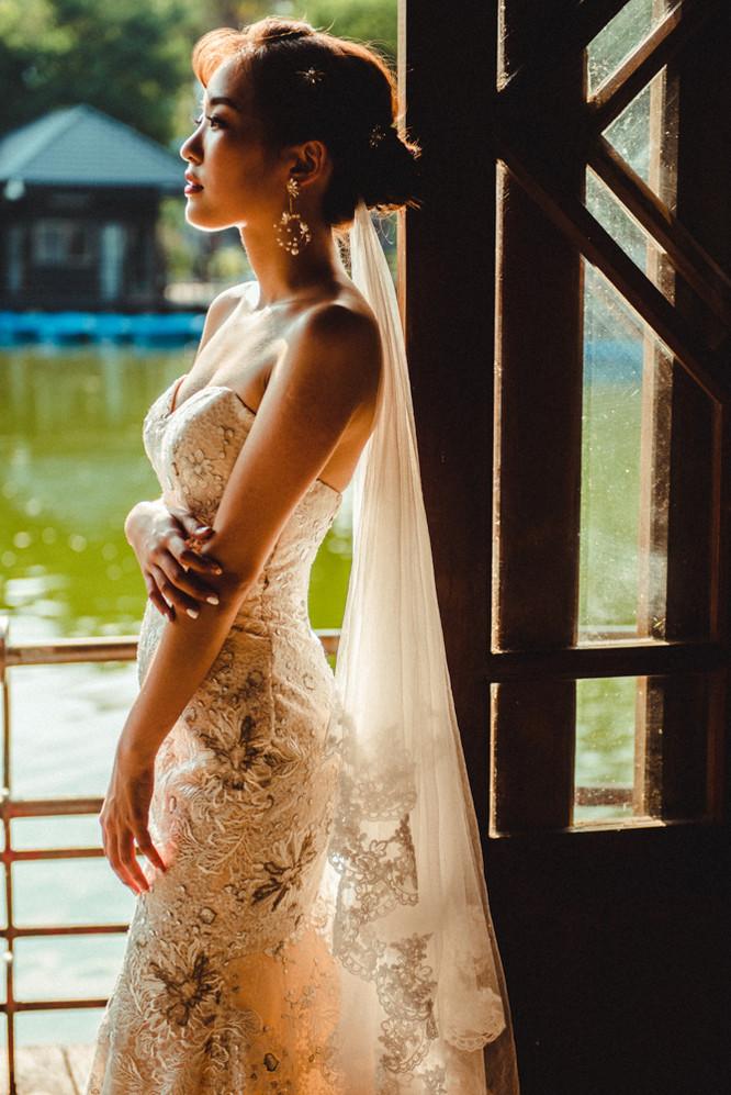 蕾絲魚尾婚紗