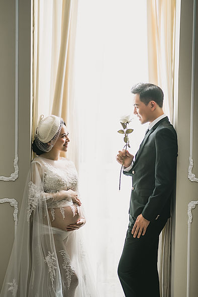 台中獨立孕婦寫真攝影棚、孕婦寫真浪漫風格