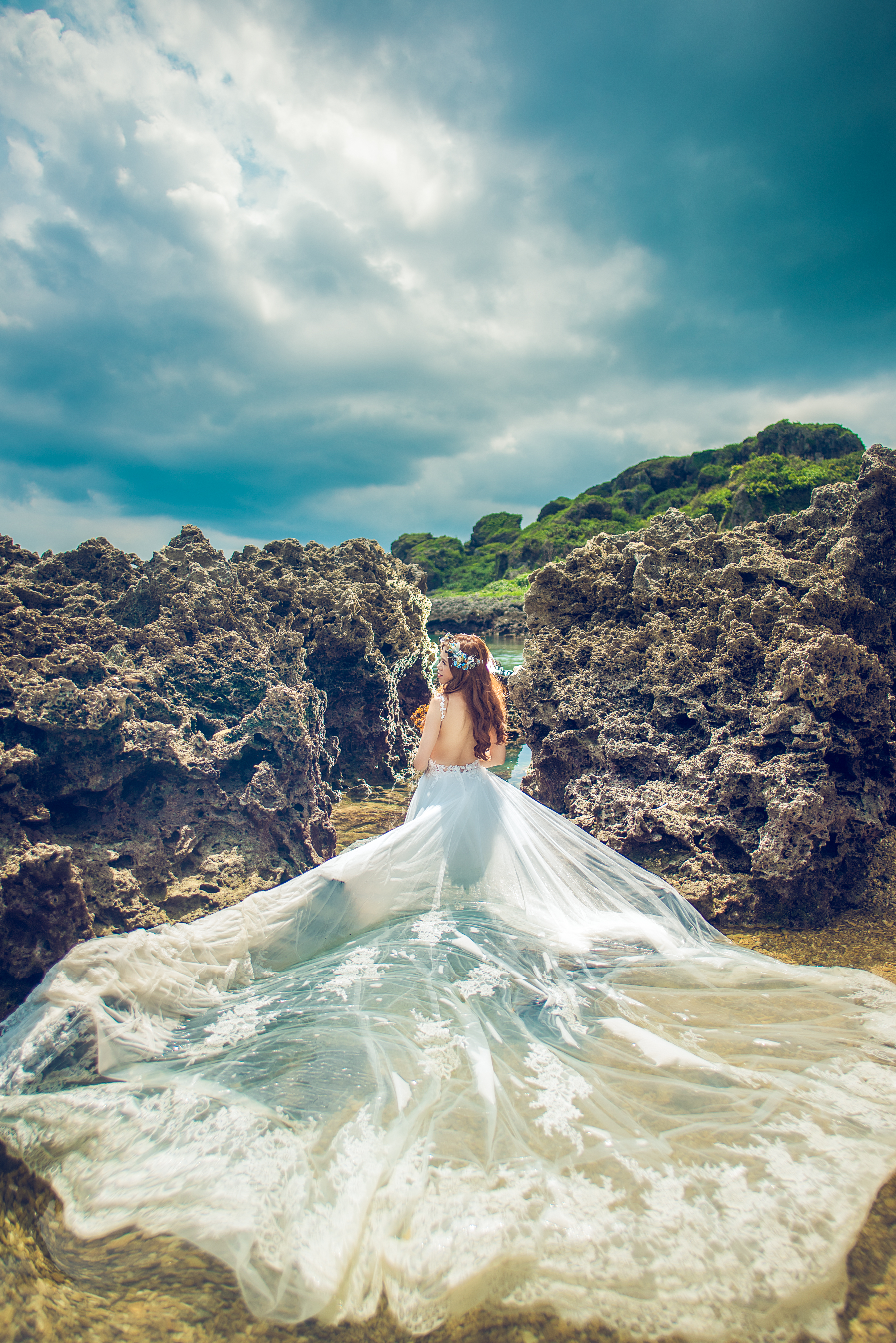 屏東墾丁婚紗,龍磐草原婚紗.海灘婚紗,夏天婚紗,沙灘婚紗