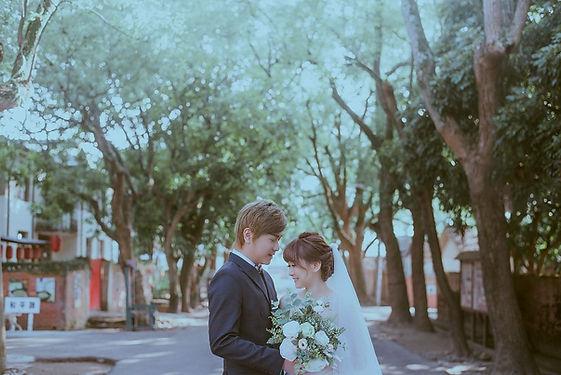 台中光復新村眷村街道婚紗外拍