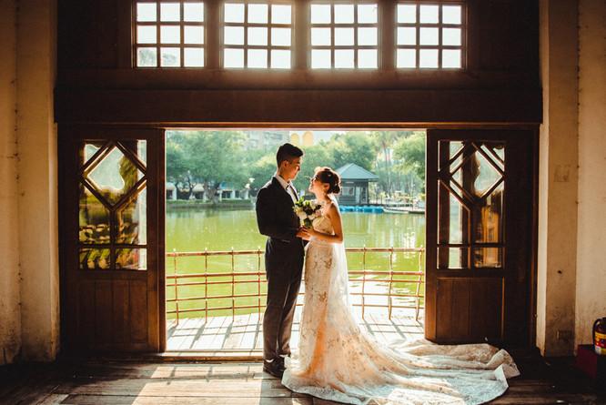 穀倉建築婚紗攝影