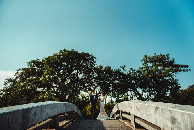 橋上婚紗攝影