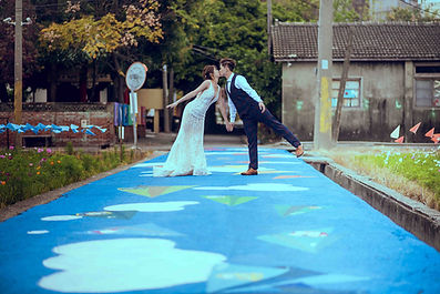 台中清水眷村文化園區可愛俏皮婚紗照-台中那一刻婚紗