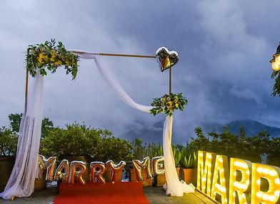 求婚道具租借-ㄇ型花架