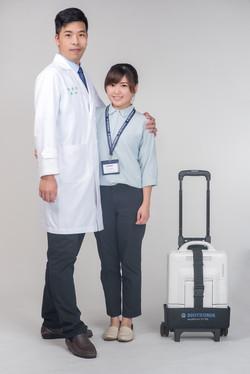 台中醫護團體形象照