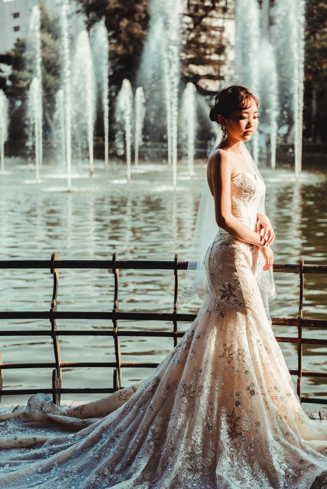 台中池邊婚紗攝影