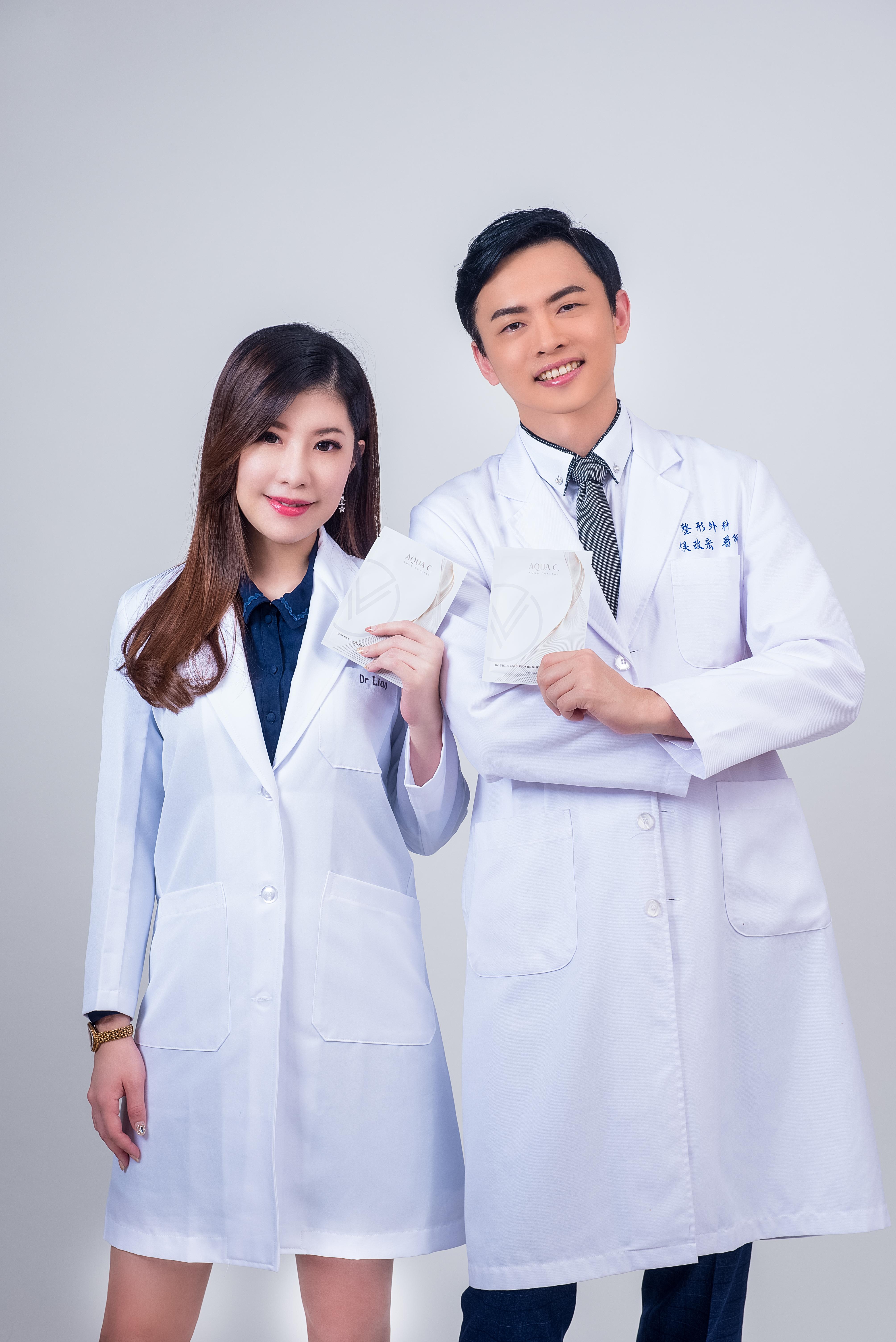 井欣生醫 AQUA C. 花漾皙 醫師代言照