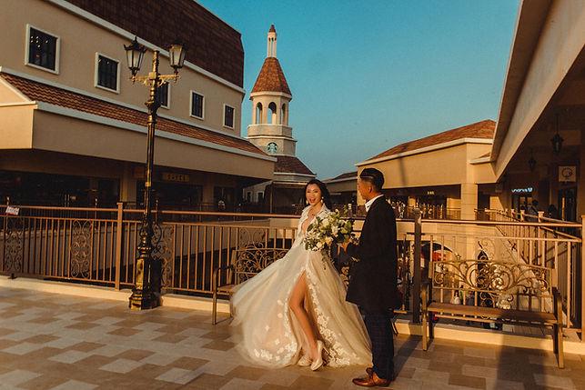 台中麗寶outlet夕陽婚紗攝影