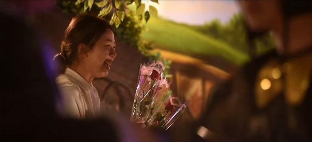 餐廳求婚佈置-單支花束