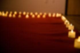 台中求婚道具出租-蠟燭燈