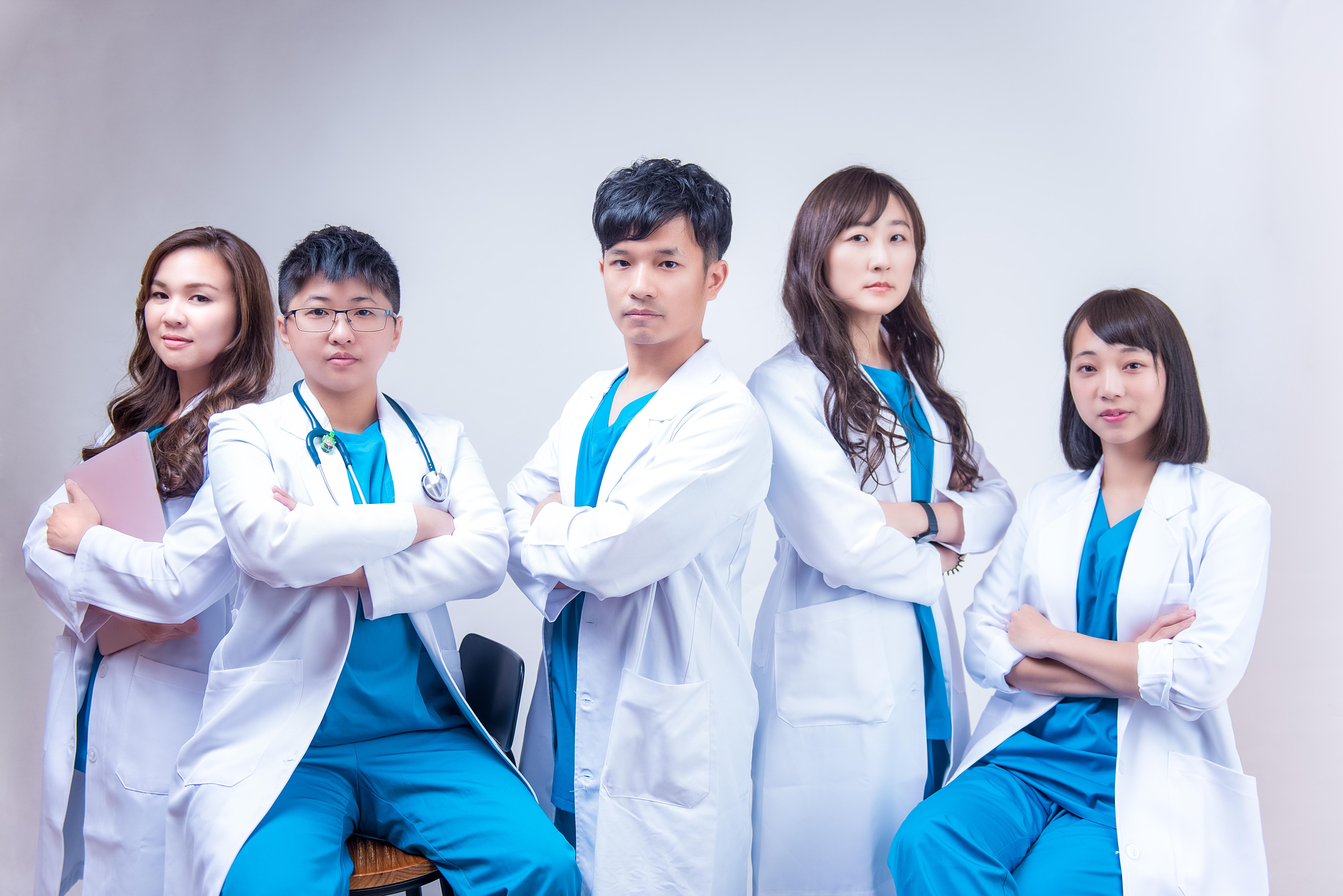台中醫師團體形象照