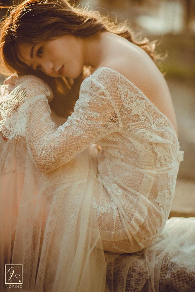 古典蕾絲婚紗