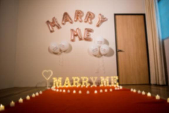 求婚道具租借-簡單愛套餐