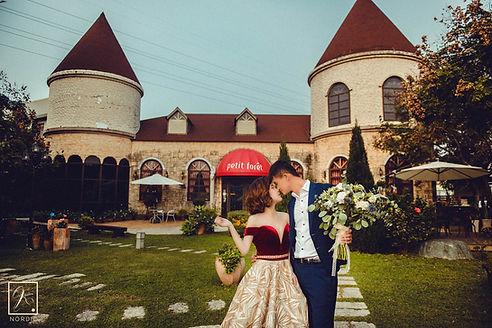 台中富林園洋菓子歐風莊園城堡婚紗攝影-台中那一刻北歐婚紗